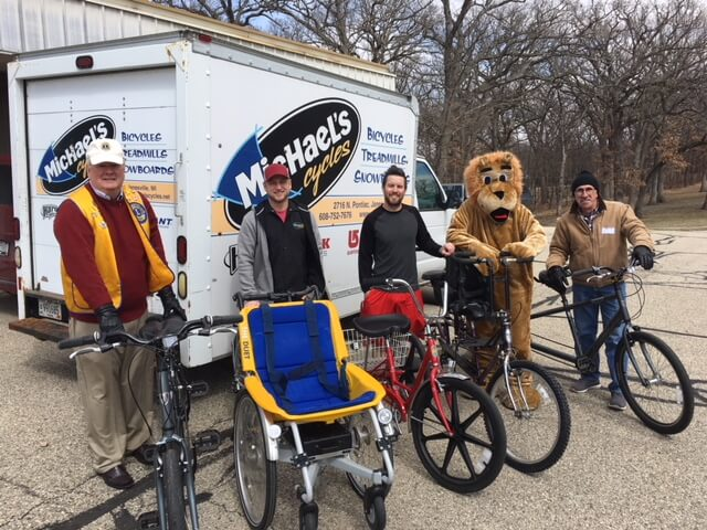 Update on Lions Club, Velo Club bike-repair project for WCBVI