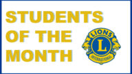 Students of the Month – January 2020